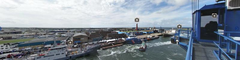 10-voudige panortour Havenfestival IJmuiden