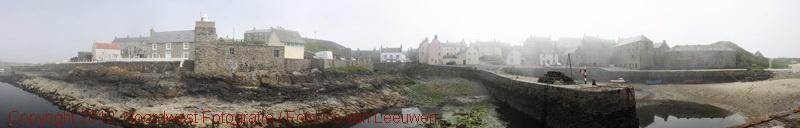 Portsoy (Schotland) in de mist [2009]